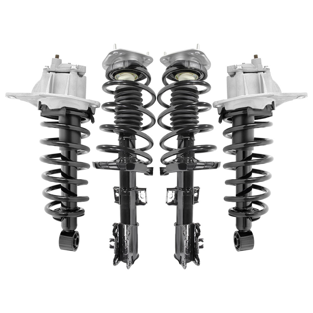 2001-2002 Volvo V70 XC Rear Quick Complete Strut /& Coil Spring Assemblies Pair